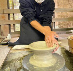 初めての陶芸教室!